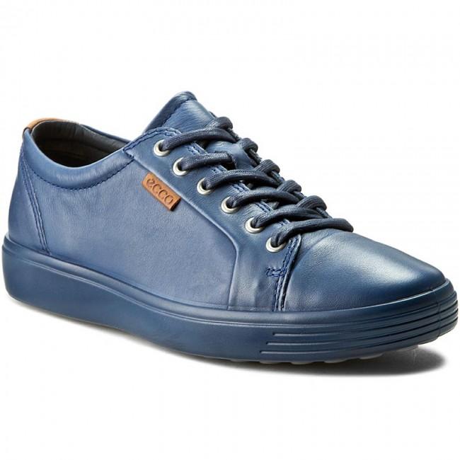 cf1a4bb1fe850 Sneakers ECCO - Soft 7 Men's 43000458960 True Navy/True Navy - Sneakers -  Low shoes - Men's shoes - efootwear.eu