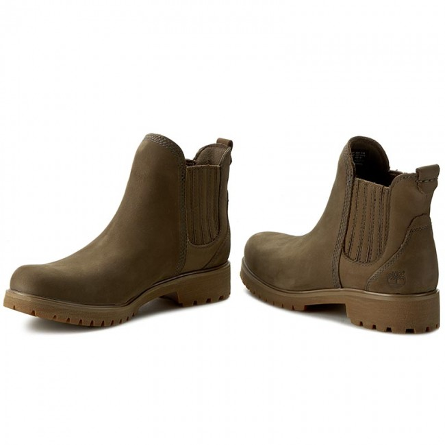 Boots TIMBERLAND Lyonsdale Chelsea A199Z Canteen