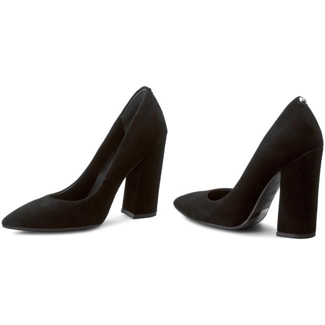 Ridley Black Suede Pumps