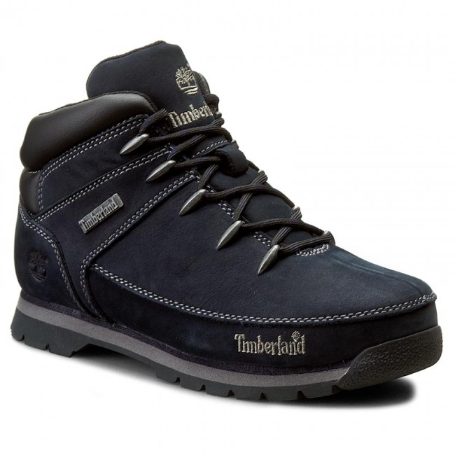 66c67f70 Hiking Boots TIMBERLAND - Euro Sprint A126M/TB0A126M4841 Blue - Winter boots  - High boots and others - Boy - Kids' shoes - efootwear.eu