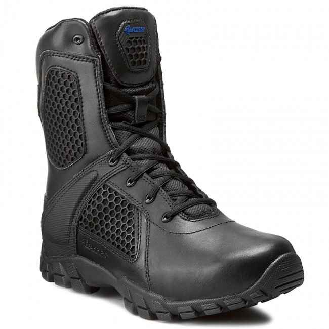 exclusive range hot products ever popular Shoes BATES - Strike E07008 Black - Trekker boots - High boots and ...