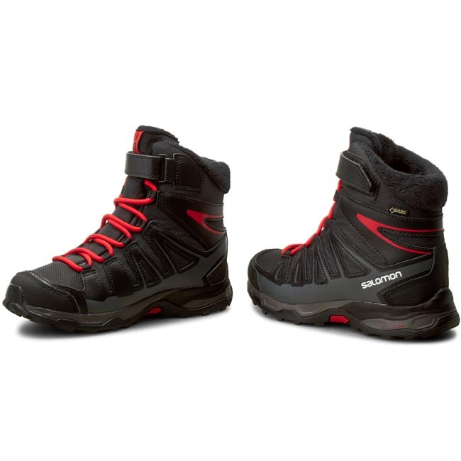 reputable site 2354a 90189 Snow Boots SALOMON - X-Ultra Winter Gtx J 391867 12 W0  Asphalt/Black/Radiant Red