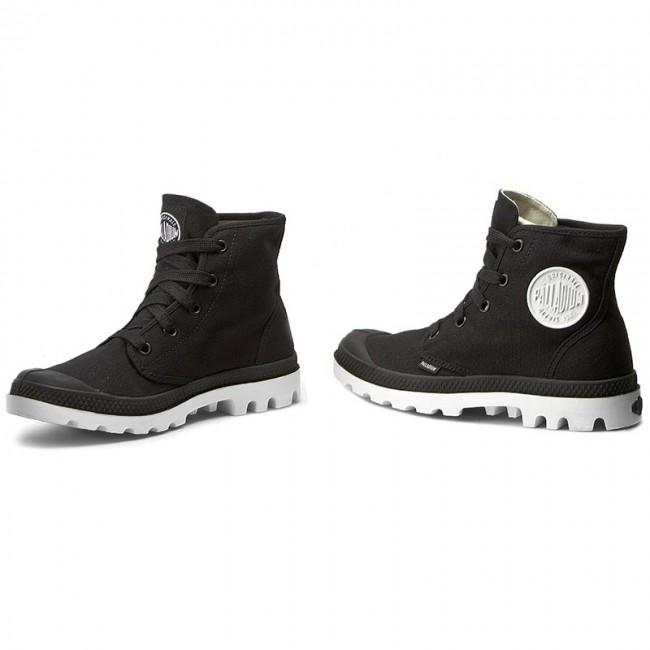 cute beauty order online Hiking Boots PALLADIUM - Blanc Hi 72886002 Black/White