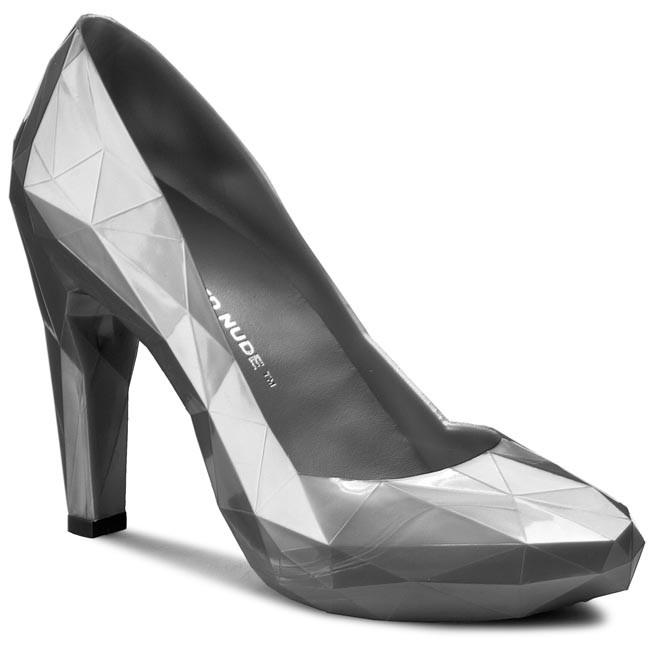 Shoes UNITED NUDE - Lo Res Pump 1002927921 Smoke Gun