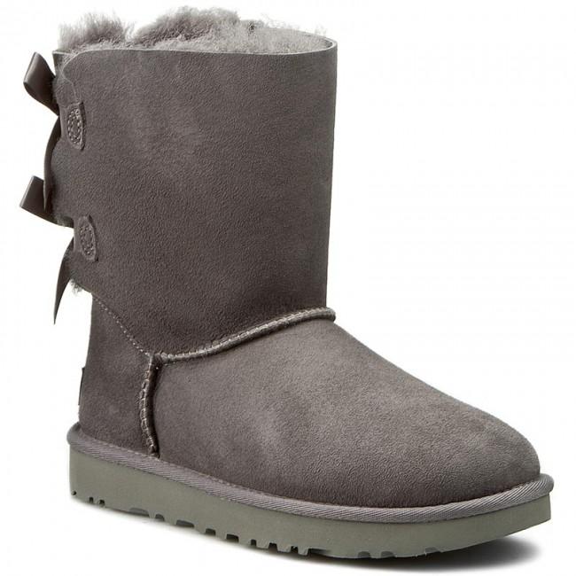 c8a3f17e35b Shoes UGG - W Bailey Bow II 1016225 Grey