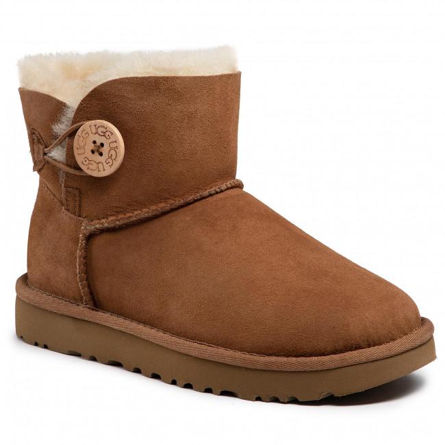 Shoes UGG - W Mini Bailey Button II 1016422 W/Che