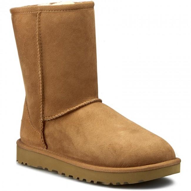 köp populärt kvalitetsprodukter grossisthandlare Shoes UGG - W Classic Short II 1016223 W/Che - UGG - High boots ...