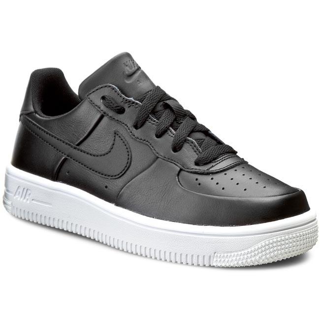 klasyczne dopasowanie tanie z rabatem super jakość Shoes NIKE - Air Force 1 Ultraforce (Gs) 845128 001 Black/Black/White