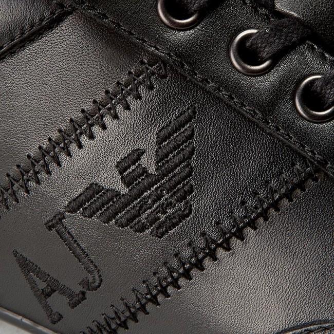 35e6c5e3ea Sneakers ARMANI JEANS - 935534 CC505 00020 Nero - Sneakers - Low ...