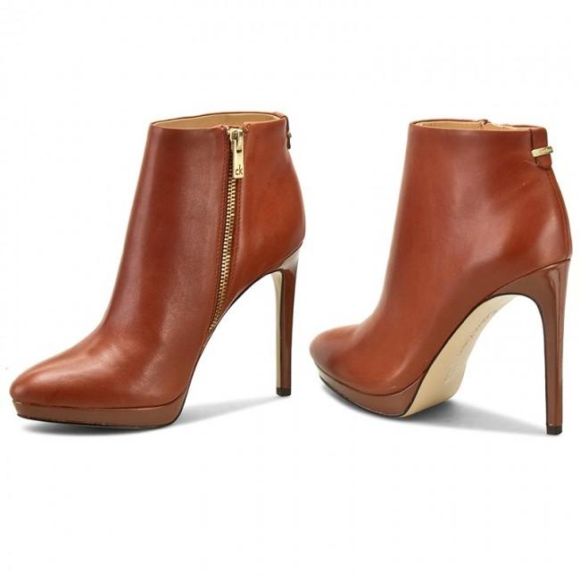 detailed look 57f16 42292 Boots CALVIN KLEIN - Sandria E2237 Brandy