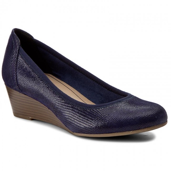 Shoes TAMARIS 1 22320 28 Navy Structure 855