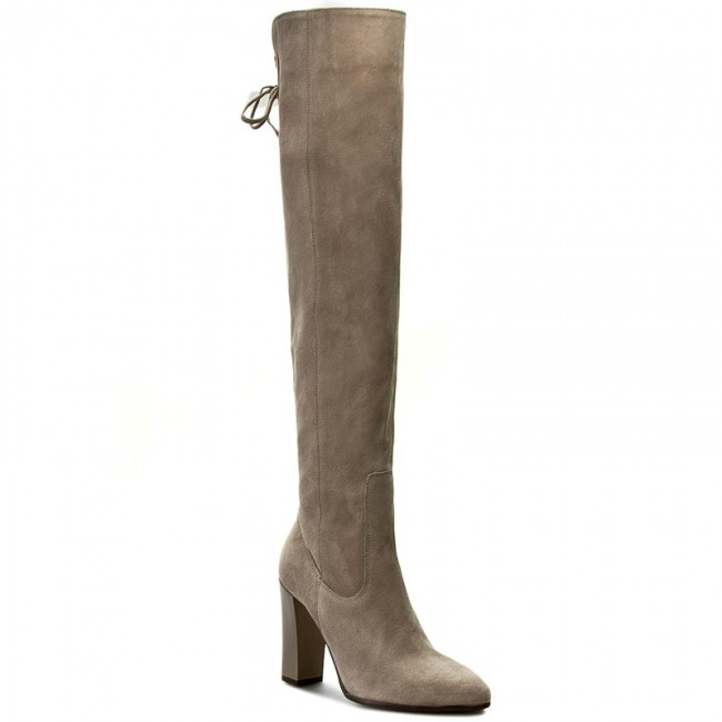 Over-Knee Boots OLEKSY - 356/609 Beige