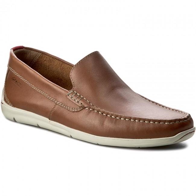 6e6e2ccfe762d Moccasins CLARKS - Karlock Lane 261151557 Tan Leather - Moccasins - Low  shoes - Men's shoes - efootwear.eu
