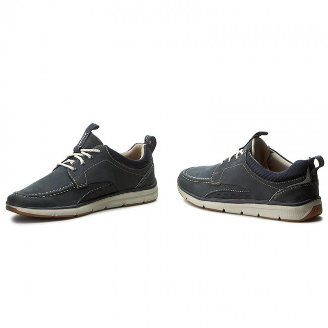 buy popular get new 100% authentic Shoes CLARKS - Orson Bay 261236207 Navy Nubuck