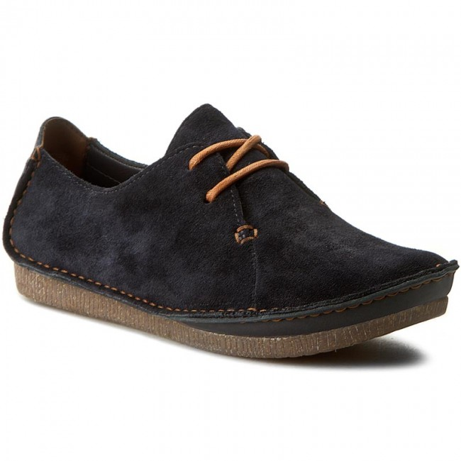 Shoes CLARKS - Janey Mae 261219144 Navy