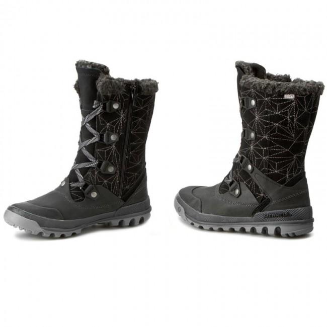 Wtpf Boots Snow Black Silversun Lace J42694 Merrell ywPOvN80mn