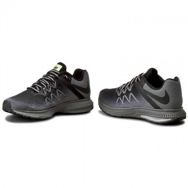 new style 01623 c87ea Shoes NIKE - W Nike Zoom Winflo 3 Shield 852444 001 Black Black Cool