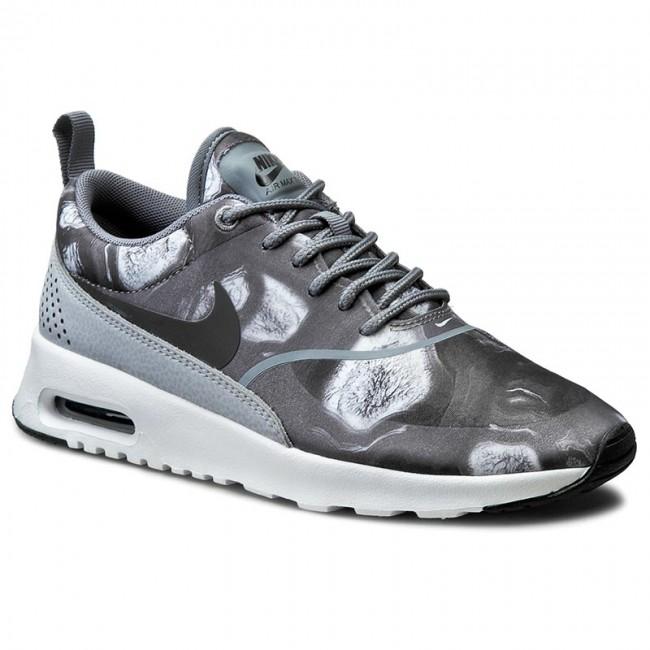Shoes NIKE Air Max Thea Print 599408 013 BlackBlackWolf Grey