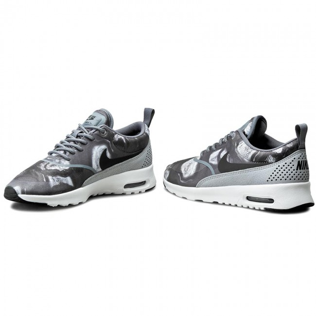 Details about Nike Air Max Thea Print Women's Shoes BlackWolf Grey 599408 013