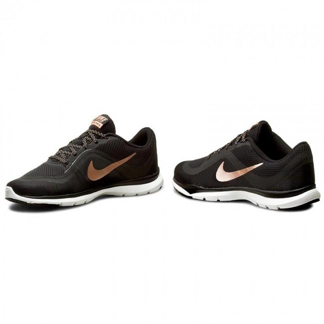 Shoes NIKE Flex Trainer 6 831217 006 BlackMtlc Red BronzeWhite