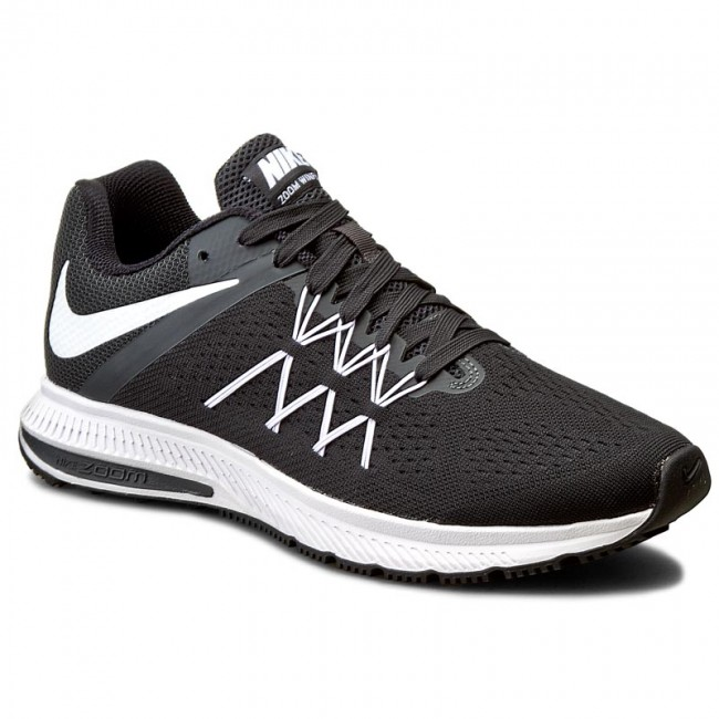 best website 6a05f 6e7a5 Shoes NIKE - Zoom Winflo 3 831562 001 Black White Anthracite