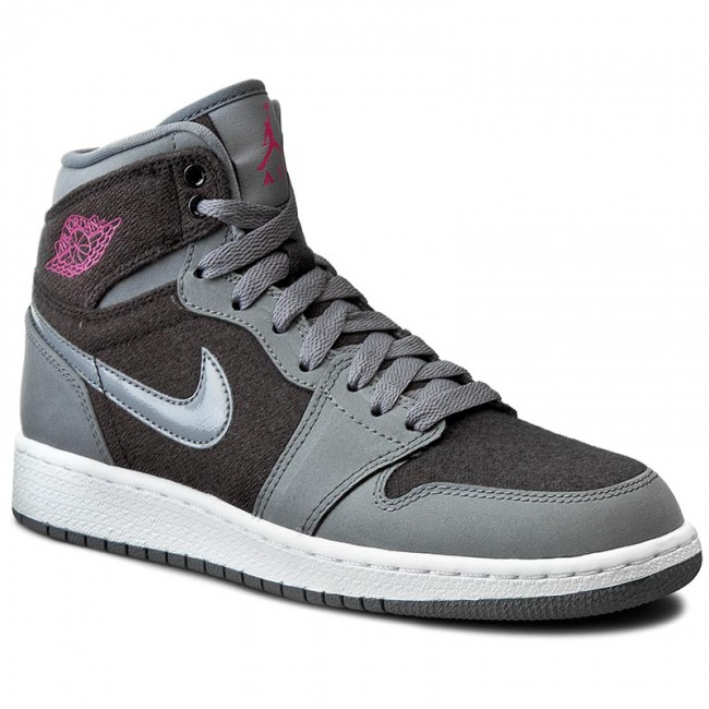 reputable site 9bc71 c5920 Shoes NIKE - Air Jordan 1 Retro High Gg 332148 002 Cool Grey/Vivid  Pink/Black