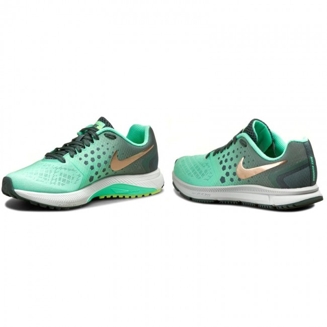 Shoes NIKE Zoom Span Shield 852451 300 HastaMtlc Red BronzeGreen Gl