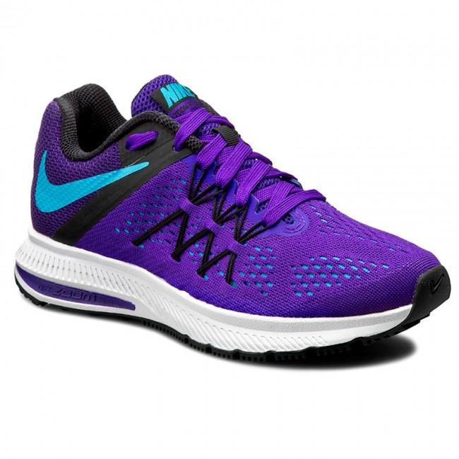 Purple Running Shoes Nike
