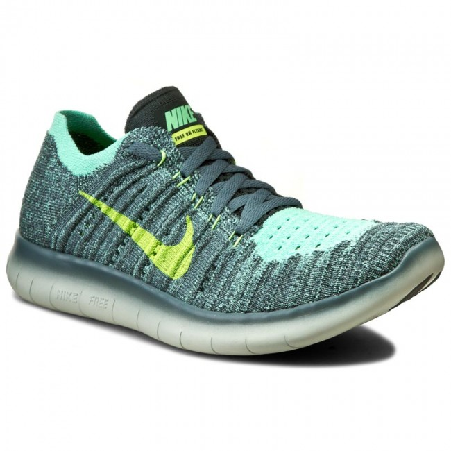 new style 453ac 06276 Shoes NIKE - Free Rn Flyknit (Gs) 834362 301 Hasta Ghost Green Seaweed -  Indoor - Running shoes - Sports shoes - Women s shoes - efootwear.eu
