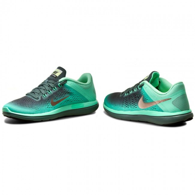 Prosperar en cualquier sitio Democracia  Shoes NIKE - Flex 2016 Rn Shield 852447 300 Green Glow/Mtlc Red/Bronze/Has  - Indoor - Running shoes - Sports shoes - Women's shoes | efootwear.eu