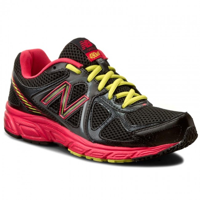 Shoes NEW BALANCE - W480BR4 Black - Indoor - Running shoes