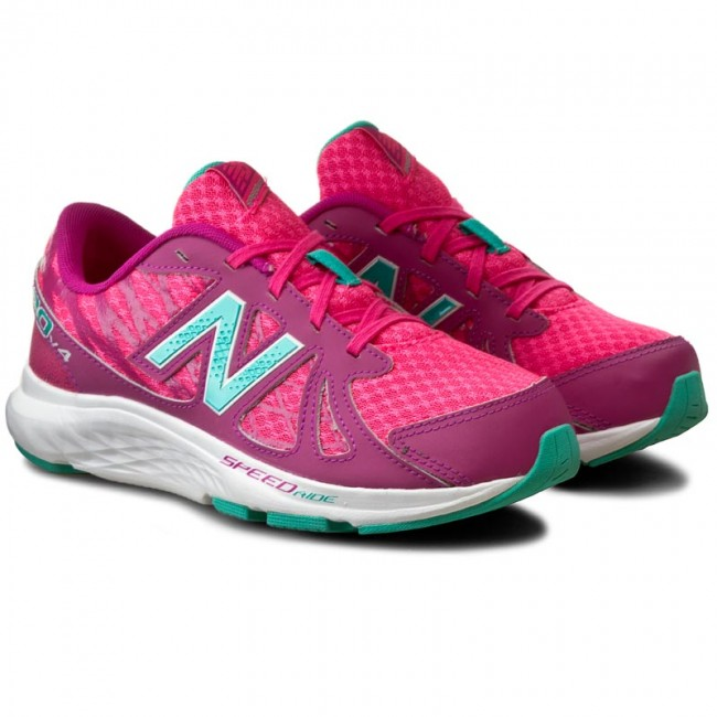 Shoes NEW BALANCE - KJ690GAY Pink - Indoor - Running shoes