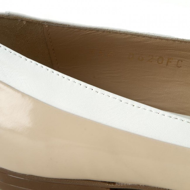 Flats GEOX D Rhosyn C D620FC 038KF CA51Z SkinWhite