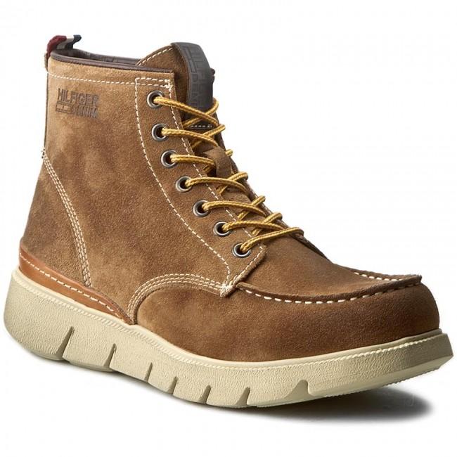 online retailer 05468 8ccf8 Knee High Boots TOMMY HILFIGER - DENIM John 1B EM56821802 Fudge 323