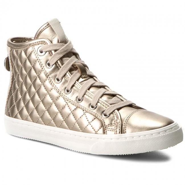 Geox Respira New Club Schuhe in champange beige Slippers