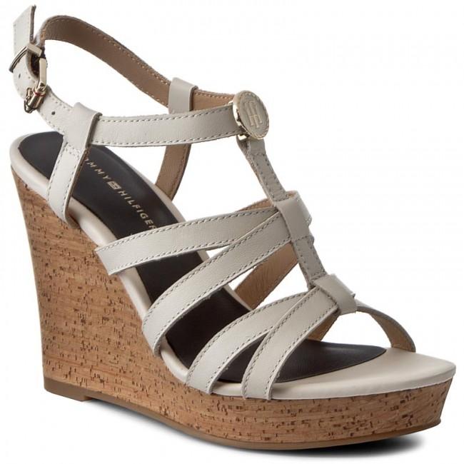 ffd9615e2 Sandals TOMMY HILFIGER - Edel 8A FW0FW00868 Whisper White 016 ...