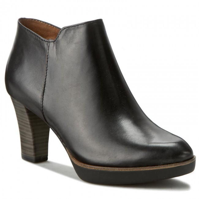 boots tamaris 1 25813 37 black leather 003 boots