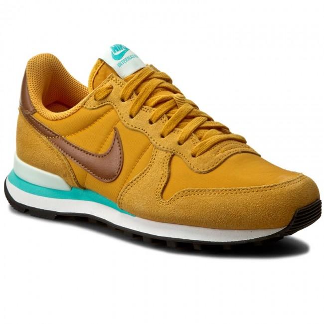 brand new 81aaa 44663 Shoes NIKE - Internationalist 828407 700 Gold Leaf Hazelnut Barely Gree -  Sneakers - Low shoes - Women s shoes - efootwear.eu