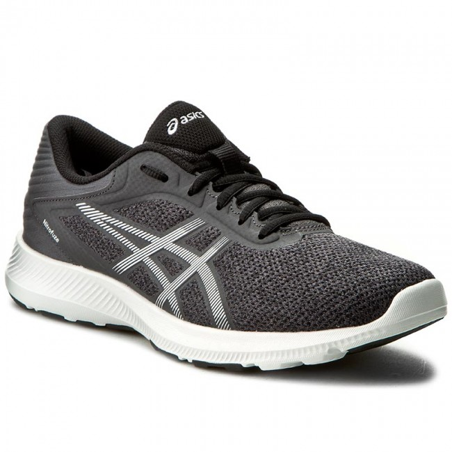 ASICS NITROFUZE Neutral running shoes dark steelwhite