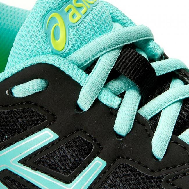 Shoes ASICS Gel Impression 9 T6F6N BlackAruba BlueSafety Yellow 9078