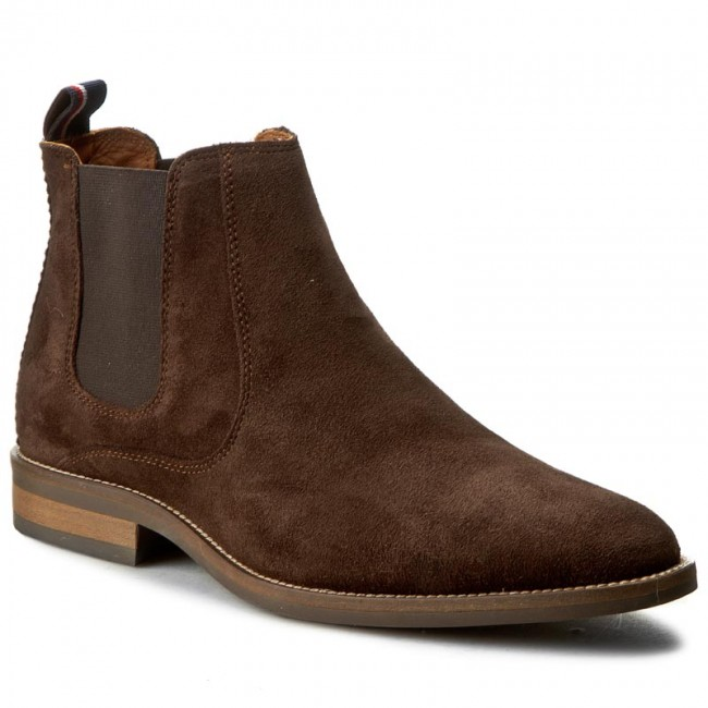 factory price good out x buy good Ankle Boots TOMMY HILFIGER - Dallen 13B FM56822112 Coffeebean 212