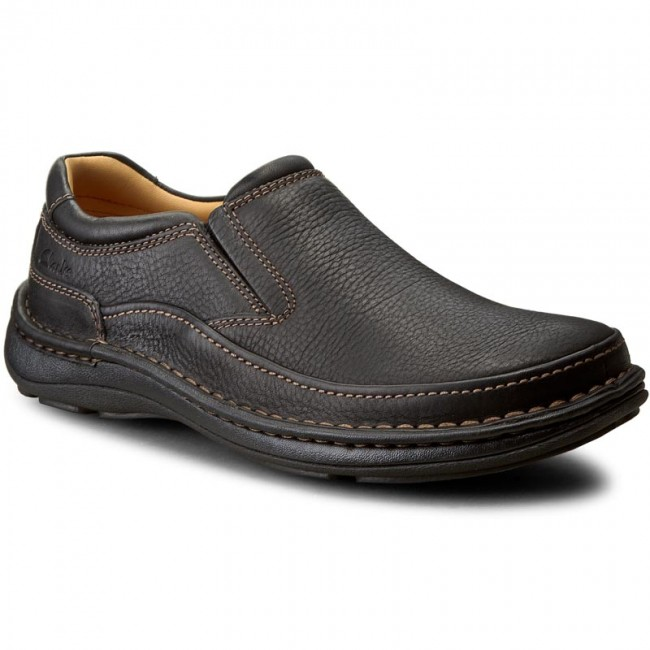 Shoes CLARKS Nature Easy 203389987 Black Leather
