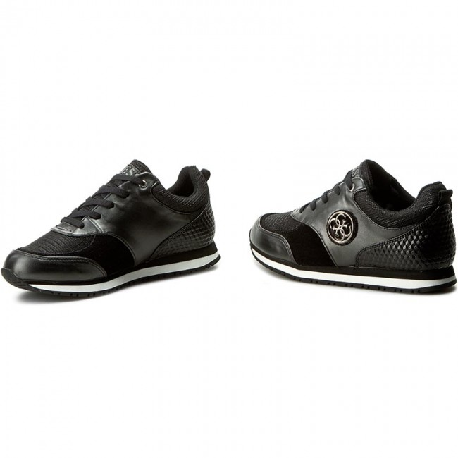 Guess Low Reeta Shoes Flret1 Black Sneakers Lel12 0PNmwynOv8