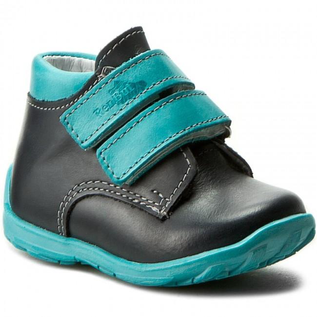 Boots RENBUT - 13-1447 Granat/Turkus