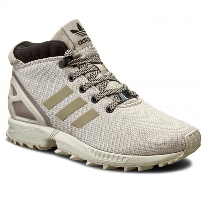 Shoes adidas Zx Flux 58 Tr BB2203 LbrownCbrownCblack
