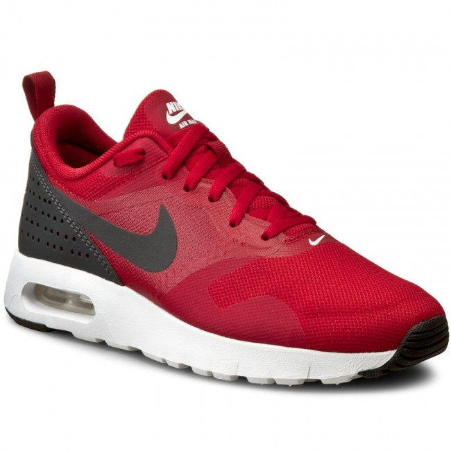 Shoes NIKE Air Max Tavas (GS) 814443 600 Gym RedAnthraciteWhiteBlack
