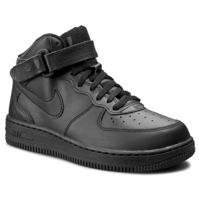 PS Black//Black 314196-004 Toddler Size/'s Nike Force 1 MID