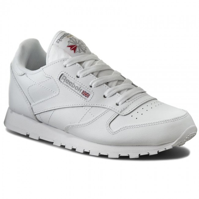 Shoes Reebok Classic Leather 50172 White Laced shoes