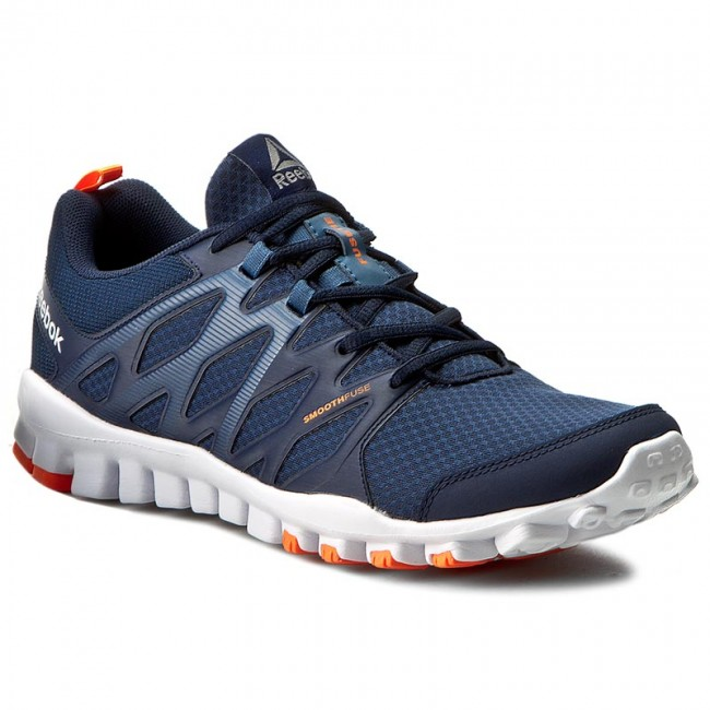 Shoes Reebok Realflex Train 4.0 BD5045 NavyBlueWhiteOrange