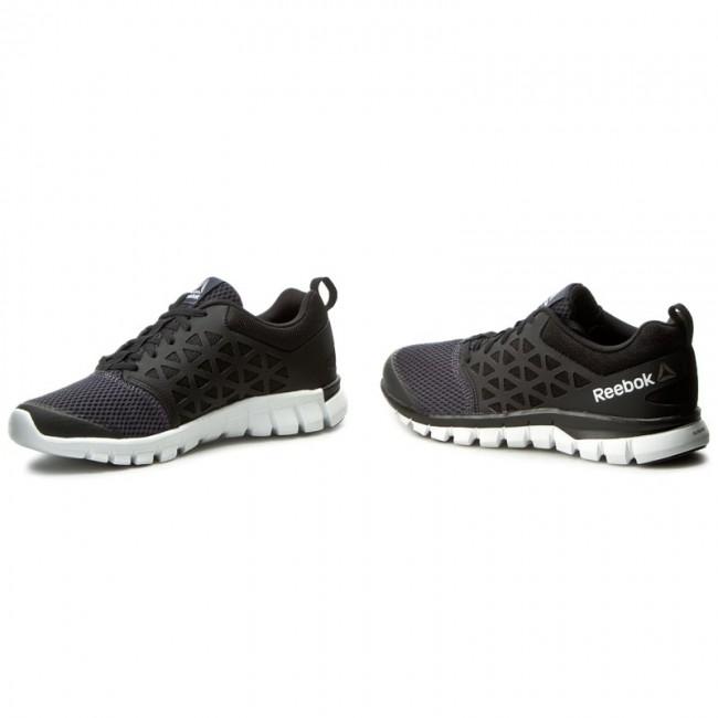 Reebok sublite xt cushion 2.0 mt running shoes (blackwhite